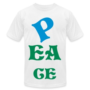 PEACE TO ALL MANKIND - Men's Fine Jersey T-Shirt