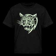 Kids' Shirts ~ Kids' T-Shirt ~ COUGAR - GLOW IN THE DARK T-Shirt