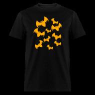 T-Shirts ~ Men's T-Shirt ~ Halloween Bats Adult T-Shirt
