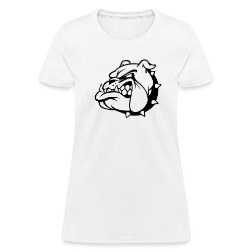 Bulldog On Ladies Tee - Women's T-Shirt