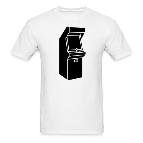 Old Arcade Game Mens T Shirt - Men's T-Shirt