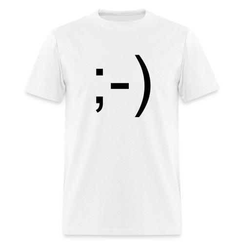 ; - )  Mens T Shirt - Men's T-Shirt