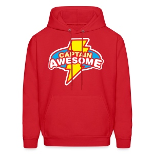 Captain Awesome - Men's Hoodie