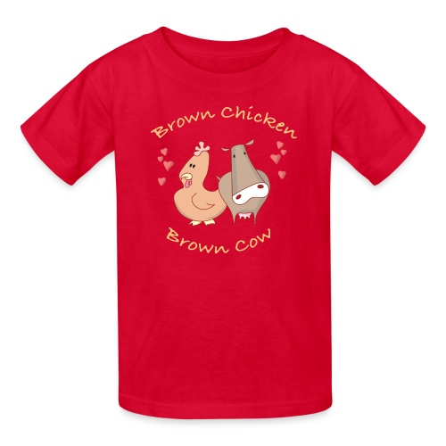 BROWN CHICKEN BROWN COW T-Shirt Kids - Kids' T-Shirt