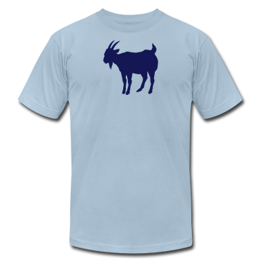 Light blue goat T-Shirts (Short sleeve)
