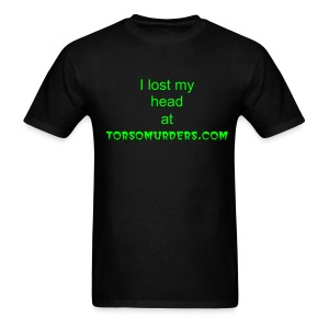 mens torso1 tshirt with skull on back - Men's T-Shirt