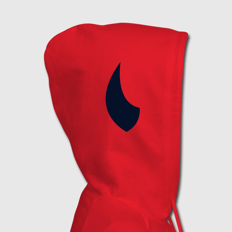Red horn Hooded Sweatshirts - Women's Hoodie