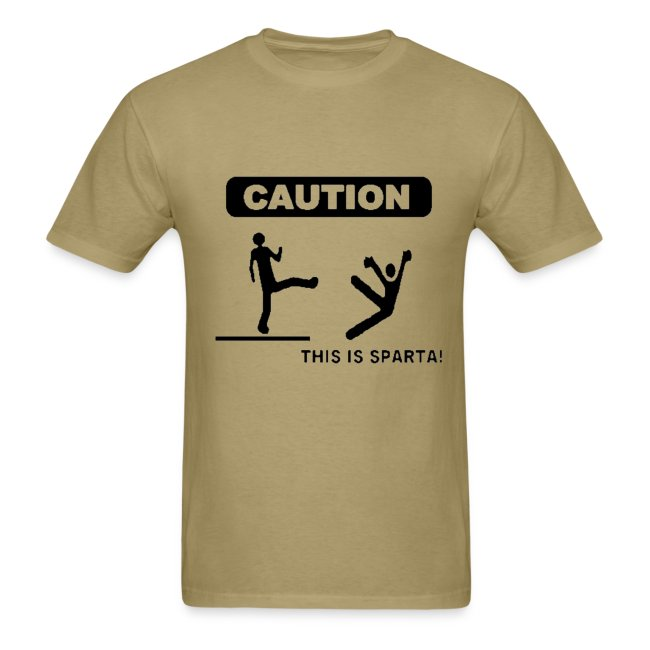 Caution: This is Sparta!