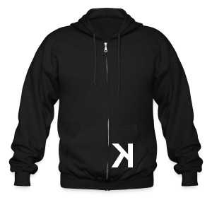 K_eep it simple (check your hood) - Men's Zip Hoodie