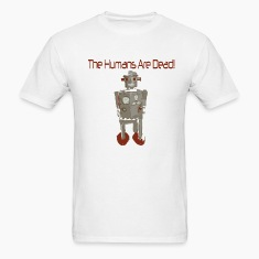 White humans_are_dead T-Shirts (Short sleeve)