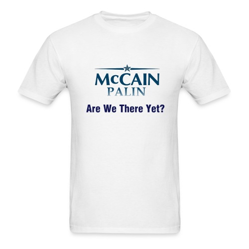 Time for McCain! - Men's T-Shirt
