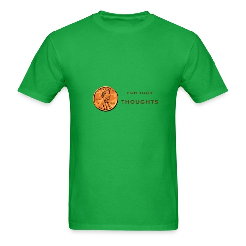 Penny For Your Thoughts - Men's T-Shirt