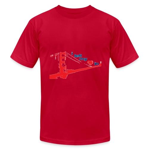I Left My Heart In San Francisco - Men's Fine Jersey T-Shirt