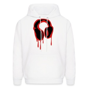 Bleeding Headphones Mens Hoody - Men's Hoodie