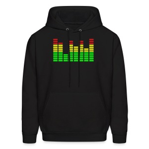 Equalizer On Mens Hoody - Men's Hoodie