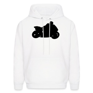 Crotch Rocket Bike Mens Hoody - Men's Hoodie