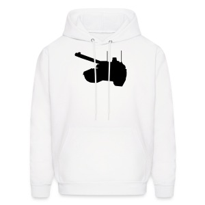 Front of Tank Mens Hoody - Men's Hoodie
