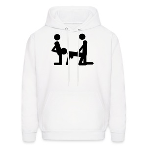 Threesome Mens Hoody - Men's Hoodie