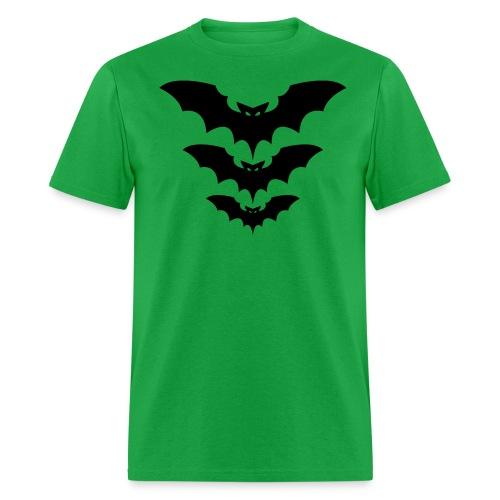 3 bats - Men's T-Shirt