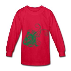 cool dress - Kids' Long Sleeve T-Shirt