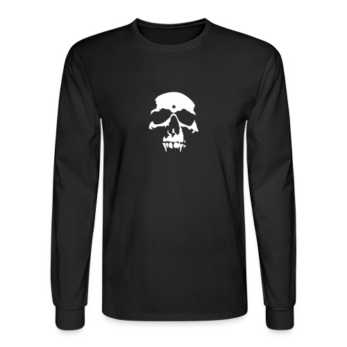 Long Sleeve Skull Tee - Men's Long Sleeve T-Shirt