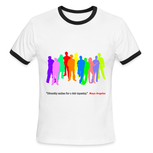 Diversity - Men's Ringer T-Shirt