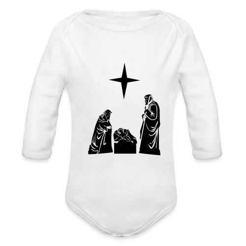 Long Sleeve One size - Organic Long Sleeve Baby Bodysuit