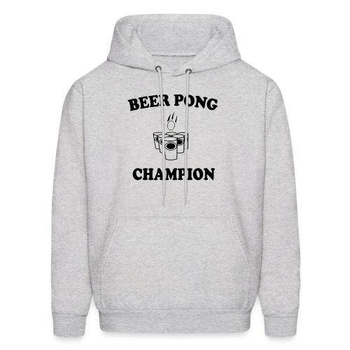 Mens BEER PONG CHAMPION hooded sweatshirt - Men's Hoodie