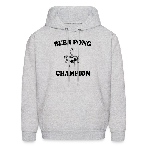 Mens BEER PONG CHAMPION hooded sweatshirt - Men's Hoodie
