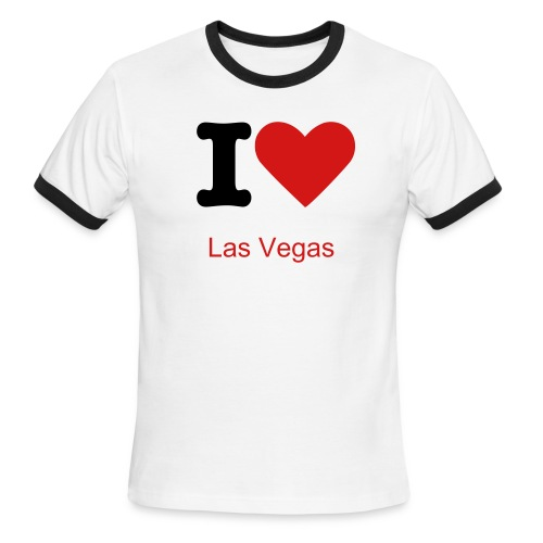 vegas - Men's Ringer T-Shirt