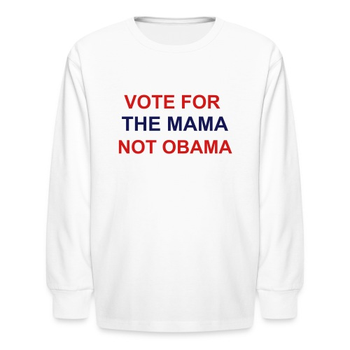 MAMA Kids Longsleeve Tee - Kids' Long Sleeve T-Shirt