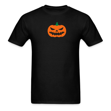 Black Jack O Lantern (2 color) T-Shirts (Short sleeve)