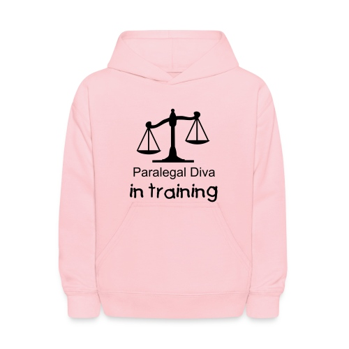 Paralegal Diva in training Childs Hooded sweat shirt - Kids' Hoodie