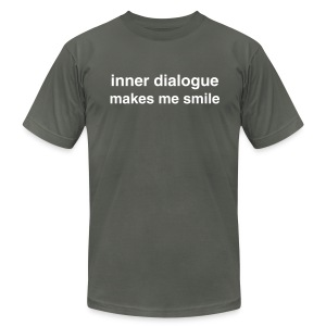 Inner Dialogue - Just TXT - Men's Fine Jersey T-Shirt
