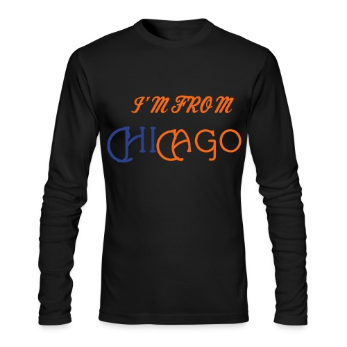 Where Am I From??? #1 - Men's Long Sleeve T-Shirt by Next Level