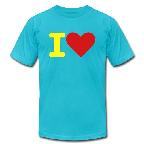 POOP - Men's Fine Jersey T-Shirt
