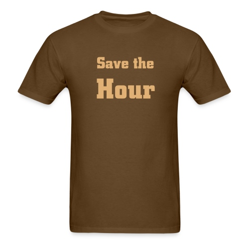 Save the Hour - Men's T-Shirt