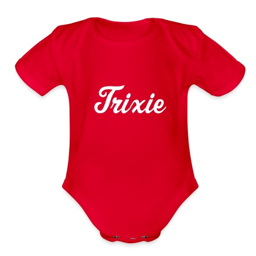 Trixie Costume One size Baby Creeper - Organic Short Sleeve Baby Bodysuit