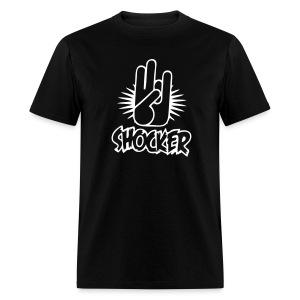 The Shocker Mens Naughty Tee - Men's T-Shirt