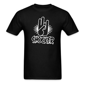 The Shocker Mens Naughty Tee - Men's T-Shirt
