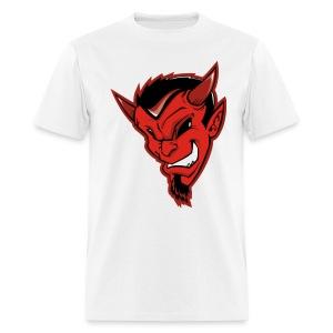 Lucky Devil Face Mens Naughty Tee - Men's T-Shirt