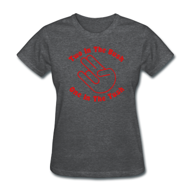 Deep heather Two in The Bush Shocker Women's T-shirts