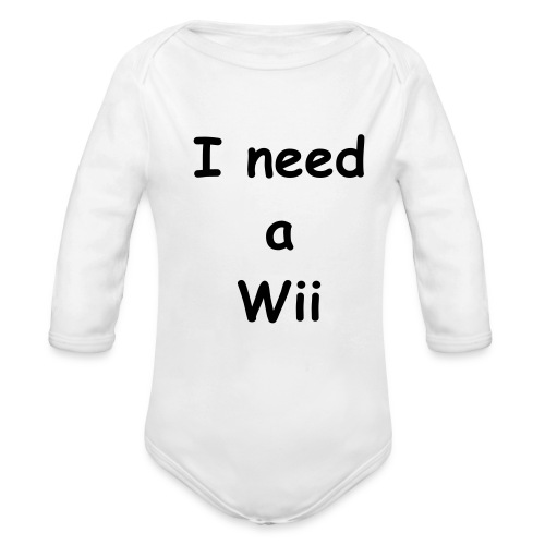 Wii - Organic Long Sleeve Baby Bodysuit