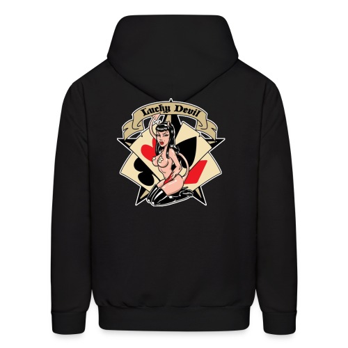 Lucky Devil hoodie - Men's Hoodie
