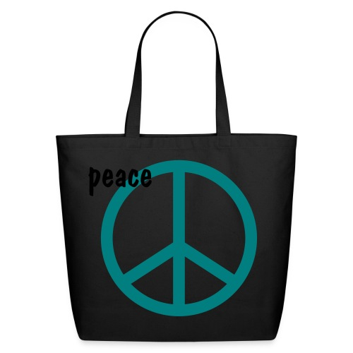 peace and love bag - Eco-Friendly Cotton Tote