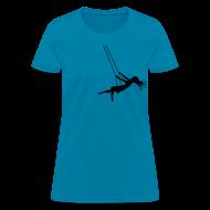 T-Shirts ~ Women's T-Shirt ~ Swinging Girl