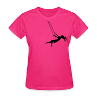 T-Shirts ~ Women's T-Shirt ~ Swinging Girl