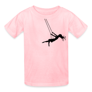 Kids' Shirts ~ Kids' T-Shirt ~ Swinging Girl