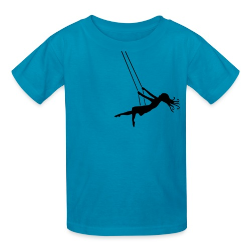 Swinging Girl - Kids' T-Shirt
