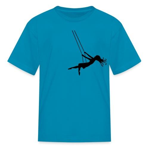 Swinging Girl - Kids' T-Shirt
